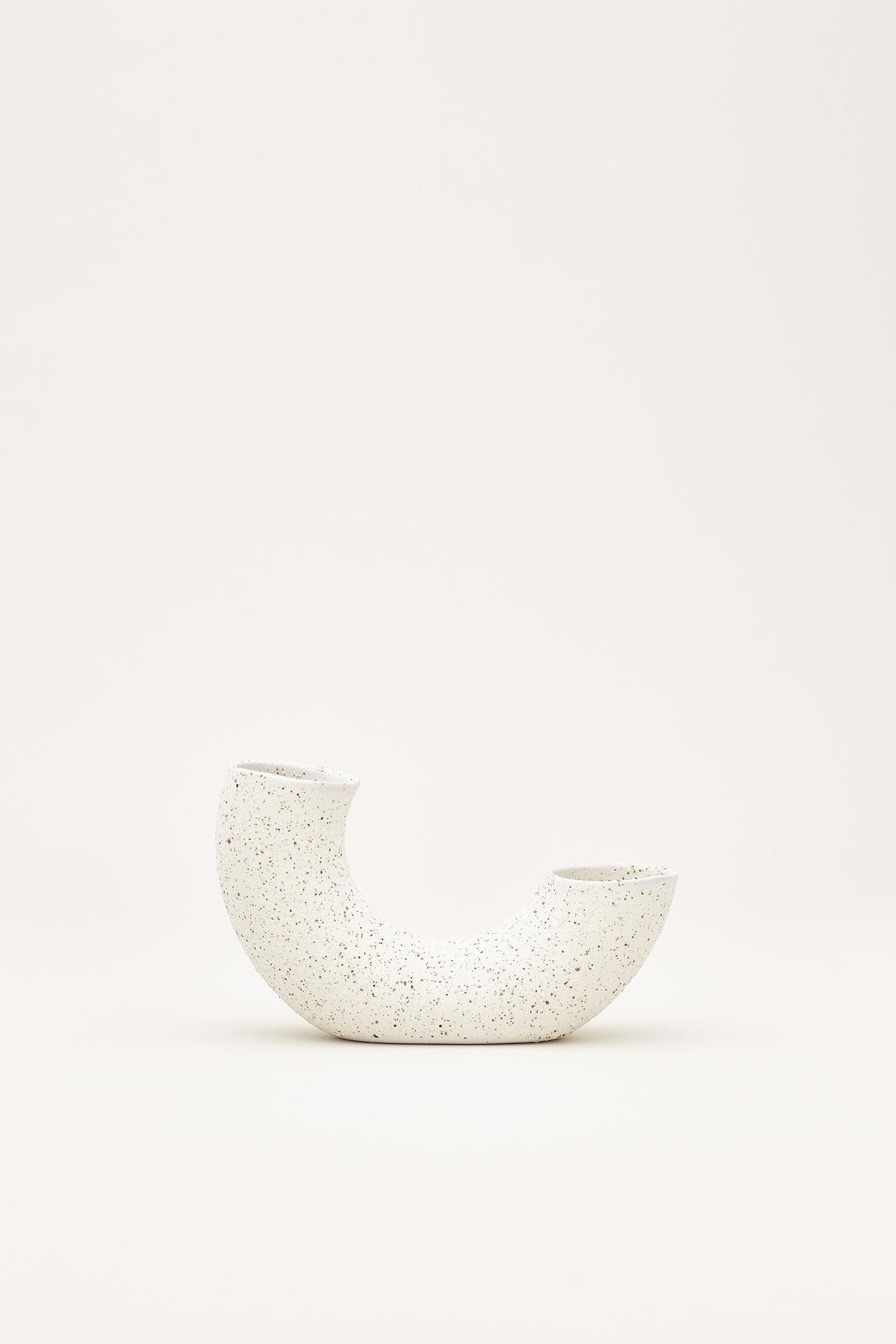 Sumi Ceramic Half-Ring Vase