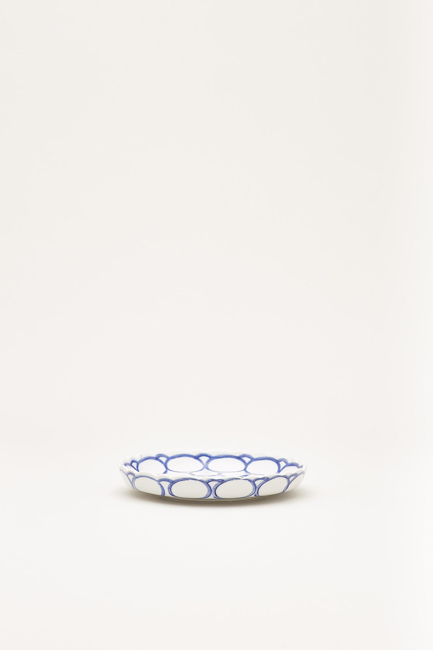 Tani Scallop-Rim Plate