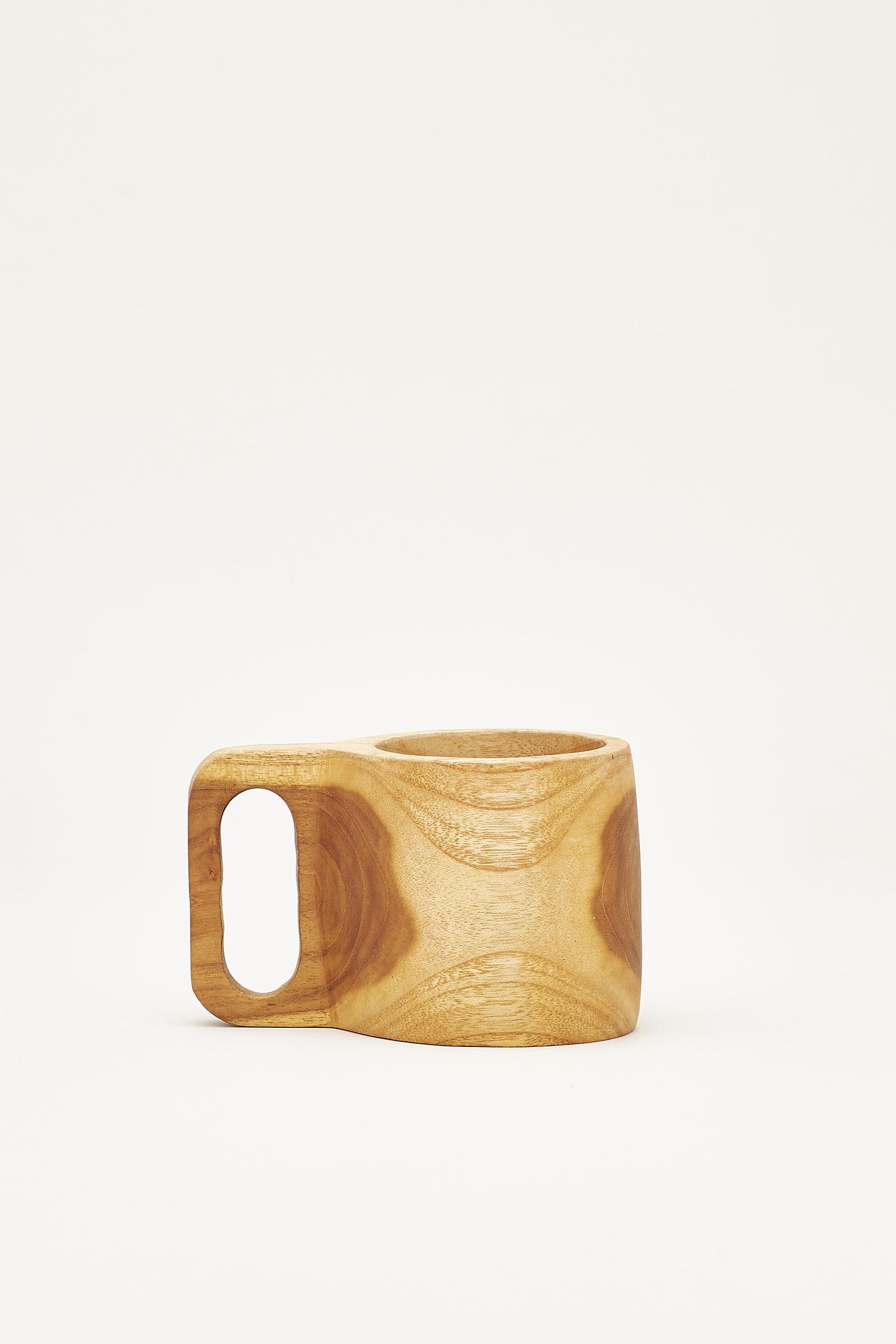 Wadell Wooden Mug
