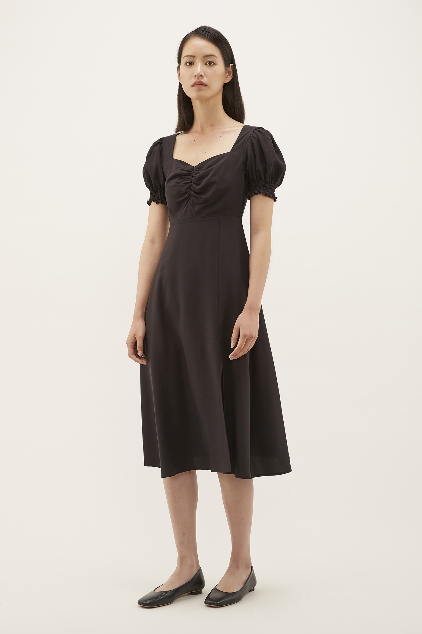 Mirelle Ruched-front Dress