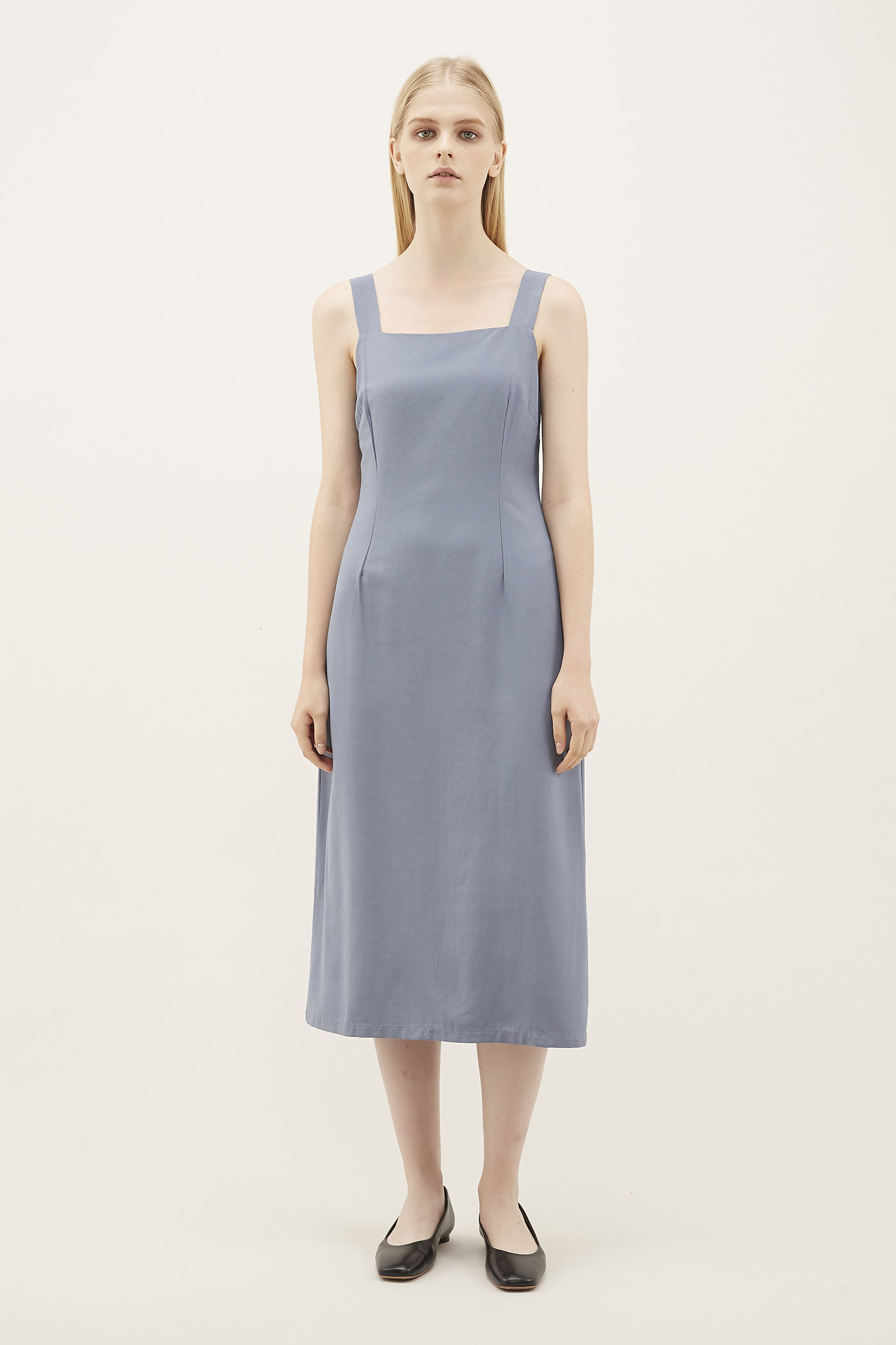 Sallie Tuck-seam Dress