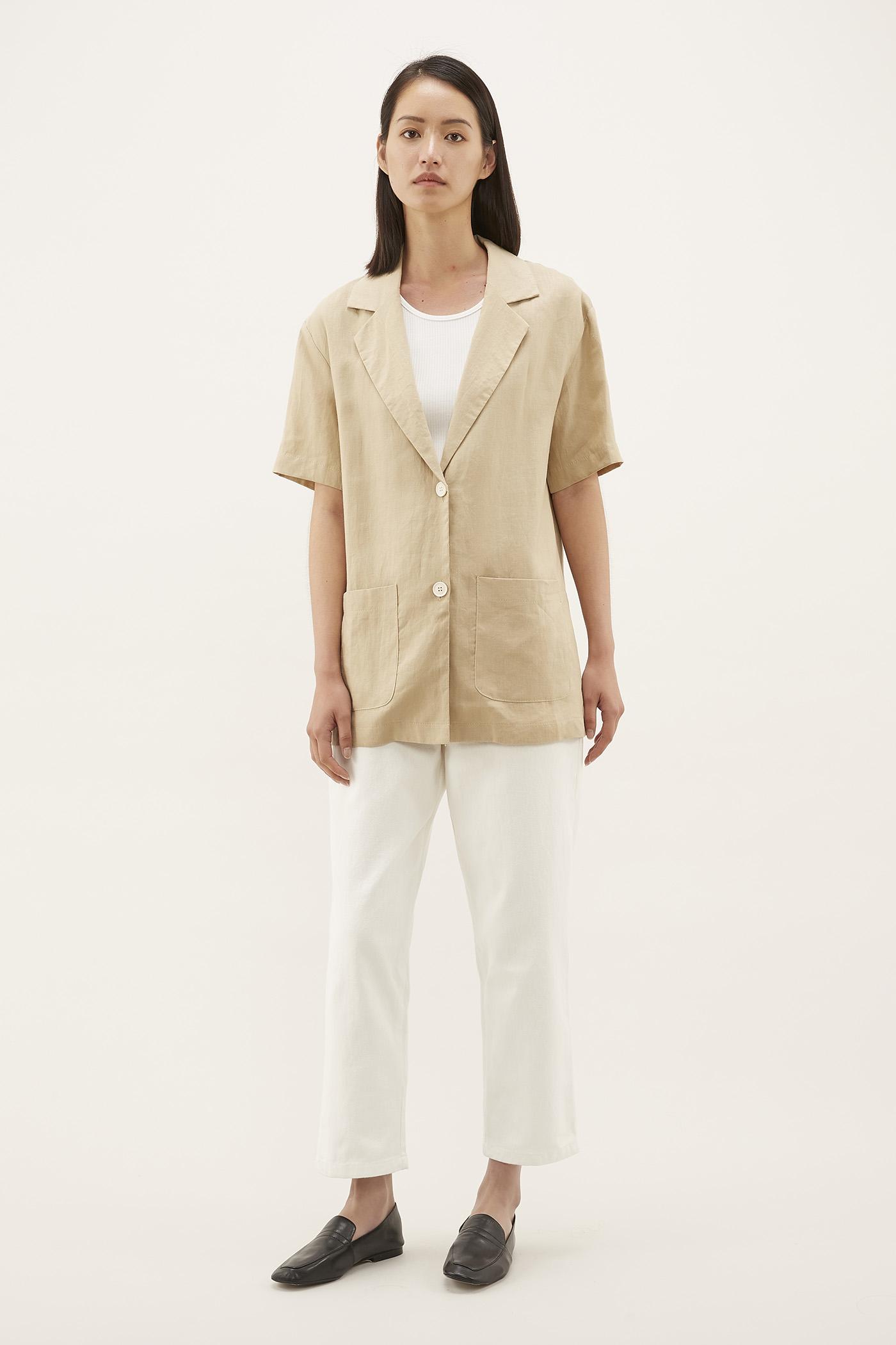 Loren Short-sleeve Blazer
