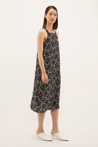 Nelisa Square-neck Dress