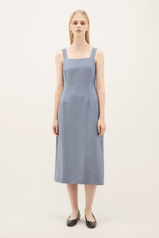 Sallie Tuck-seam Dress