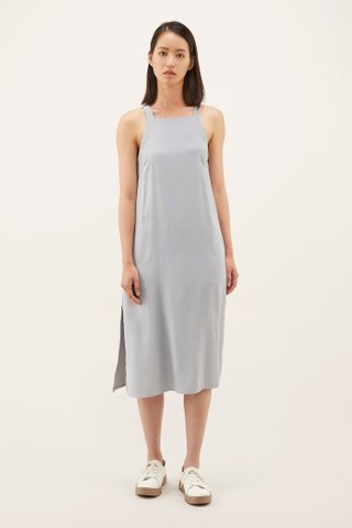 Ilisa Bib Midi Dress