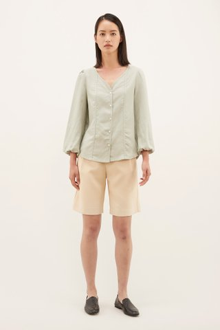 Lynette V-neck Blouse