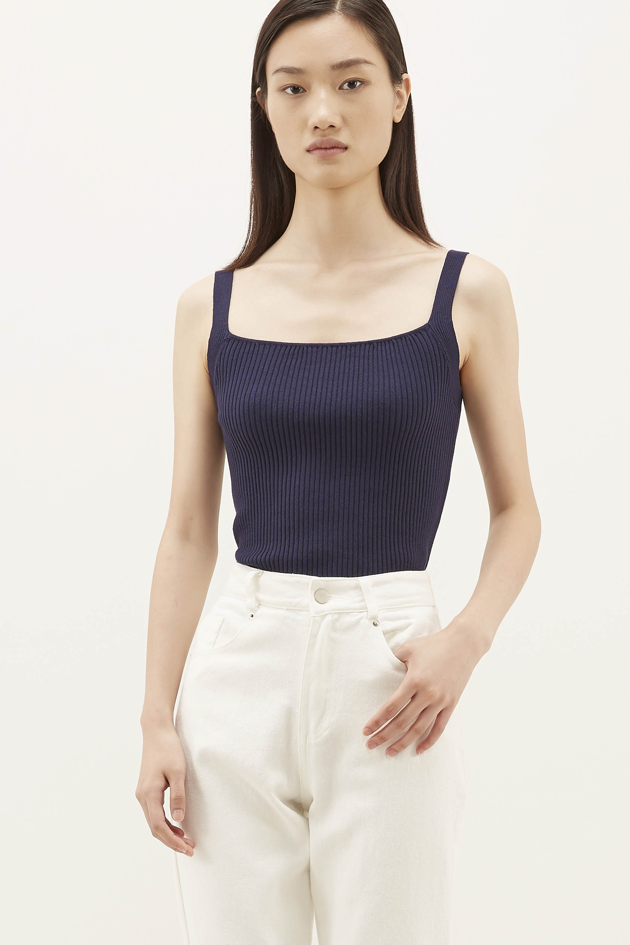 Eloy Ribbed Knit Top