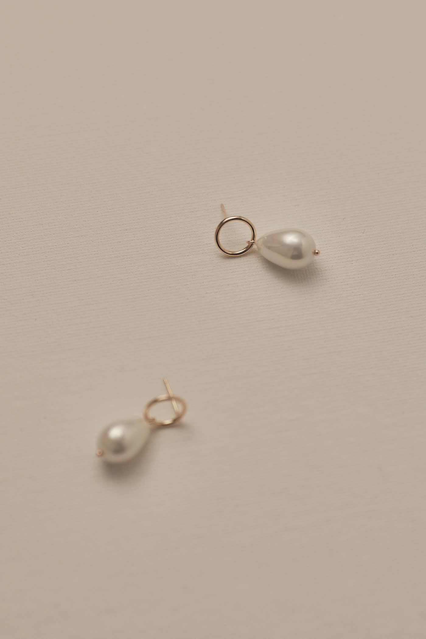 Lorne Pearl Earrings