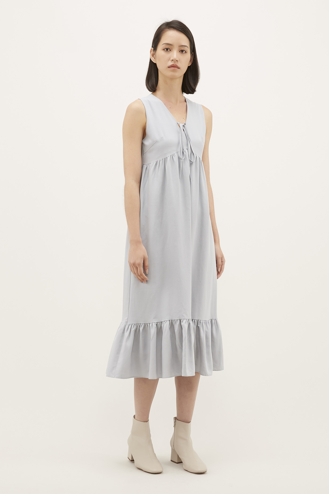 Solina Front-tie Dress