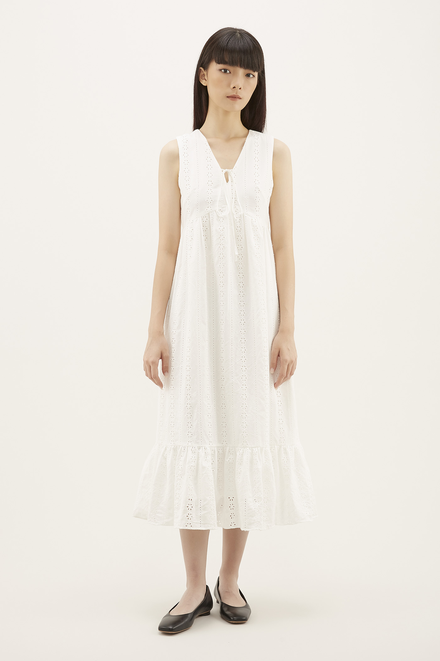 Yarina Broderie Dress