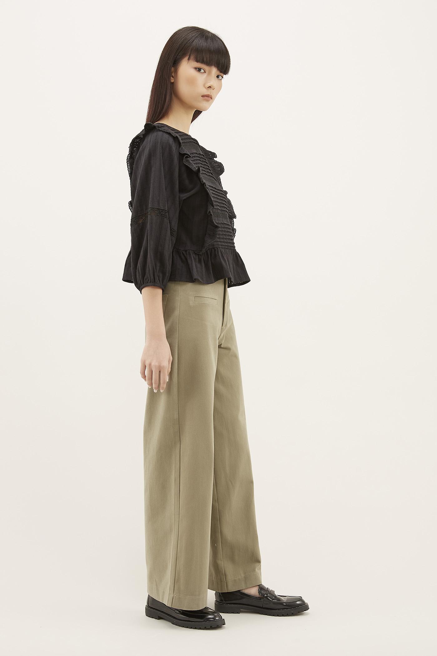 Xami Front-pocket Pants