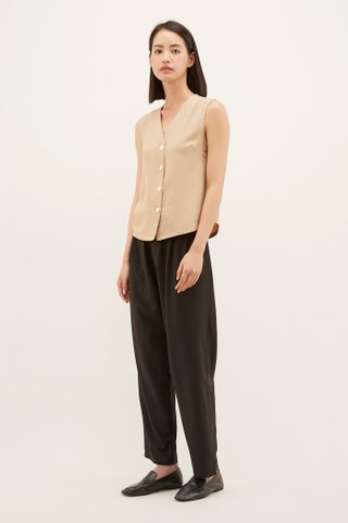 Jolena Button-through Top