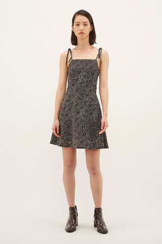 Syrena Tie-strap Mini Dress
