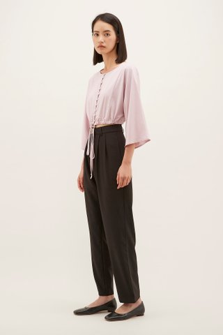 Cailen Wide-sleeve Crop Top
