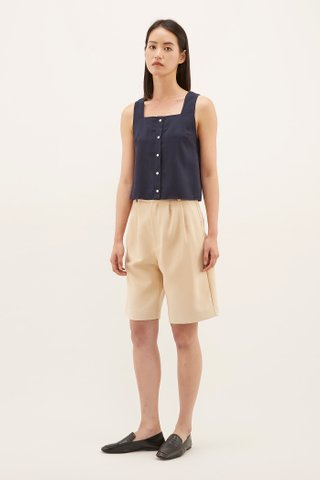 Daiya Square-neck Blouse