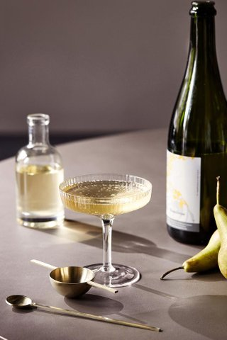 Ferm Living Ripple Champagne Saucer Set