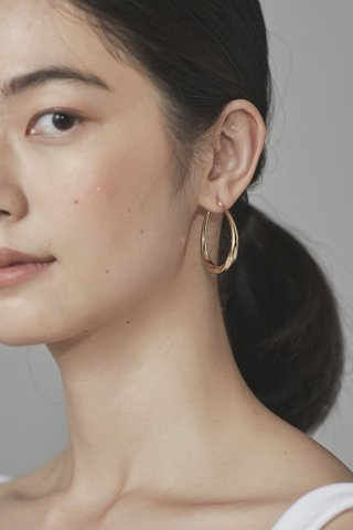 Noel Hoop Earrings