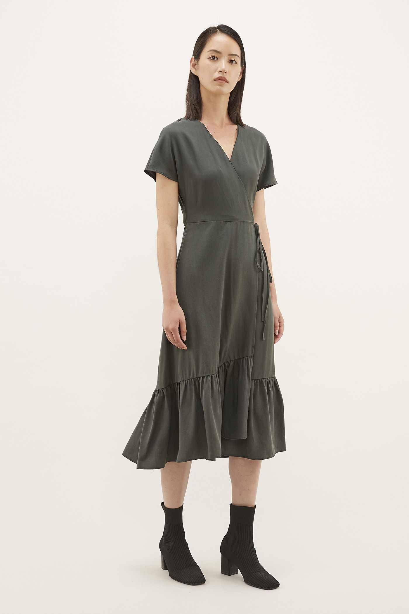 Dasha Wrap Dress
