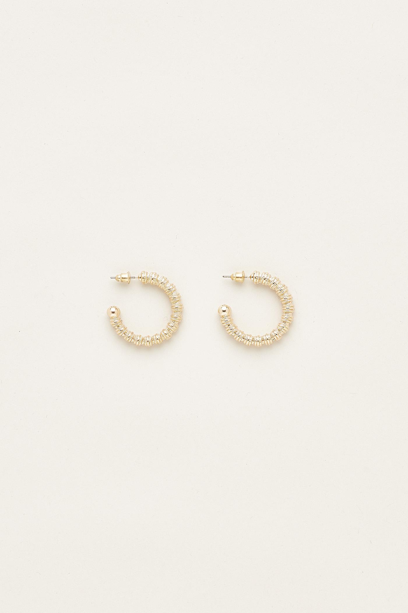 Seirra Open Hoop Earrings