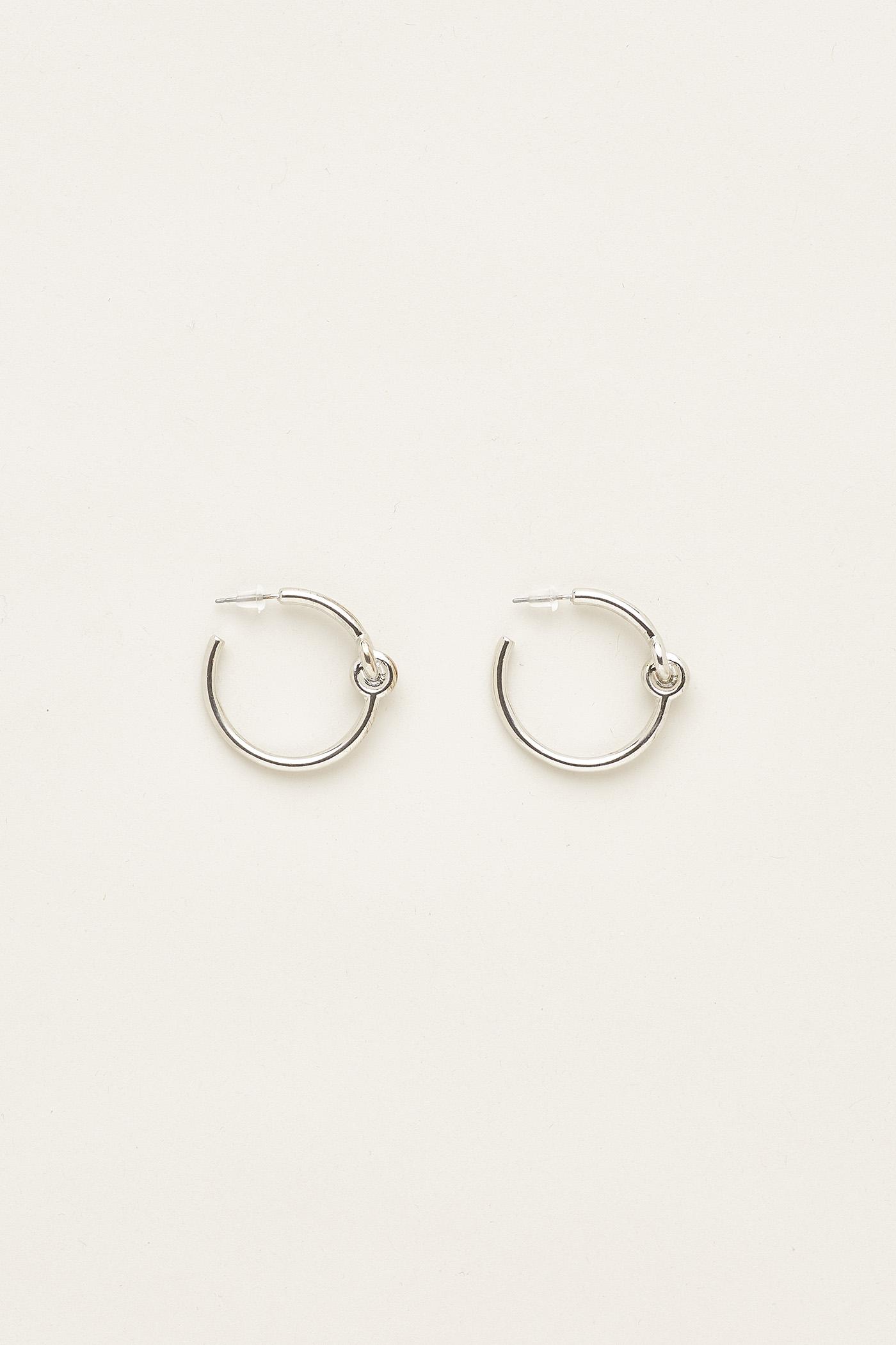 Alice Knot Hoop Earrings