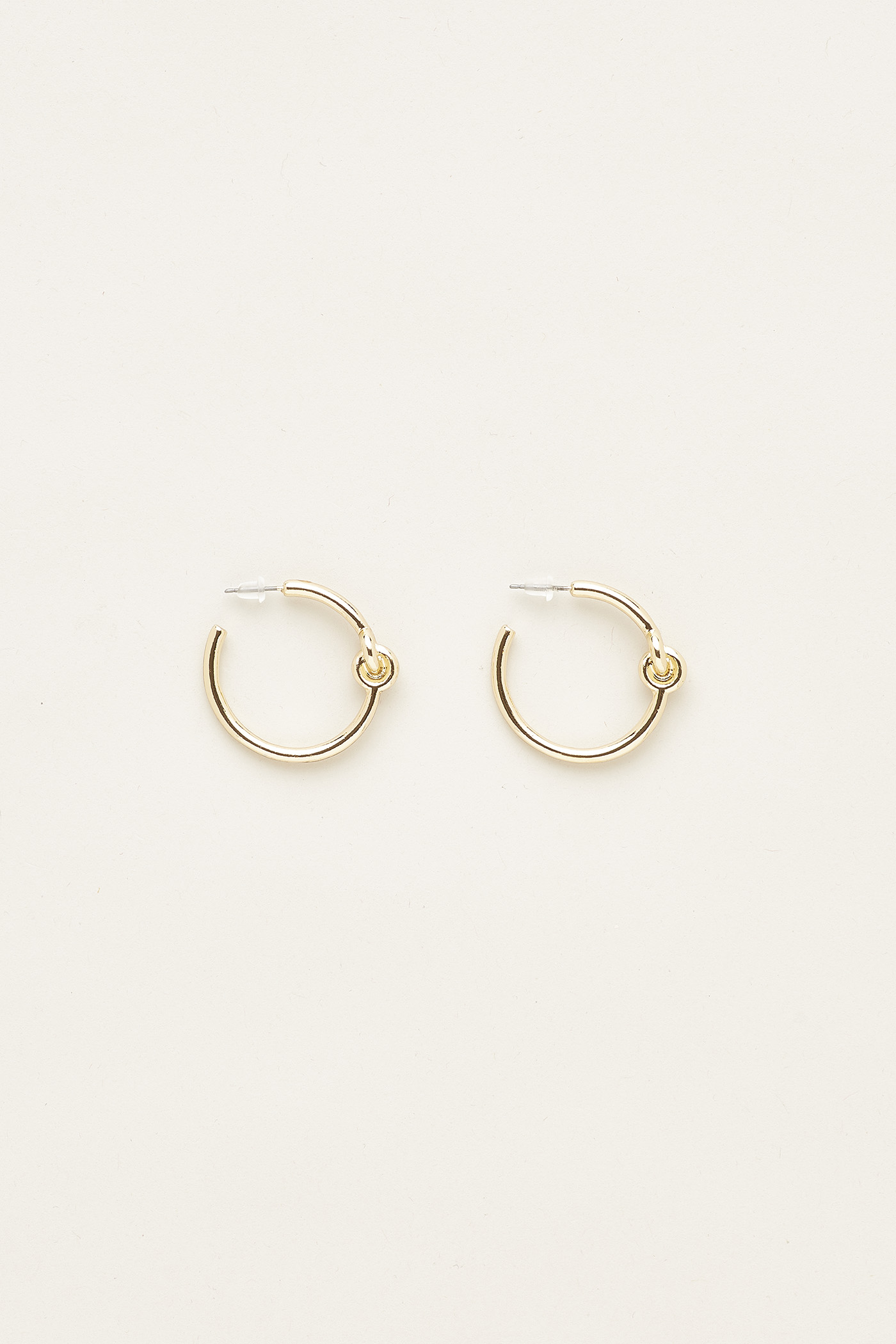 Alice Knot Hoop Earrings