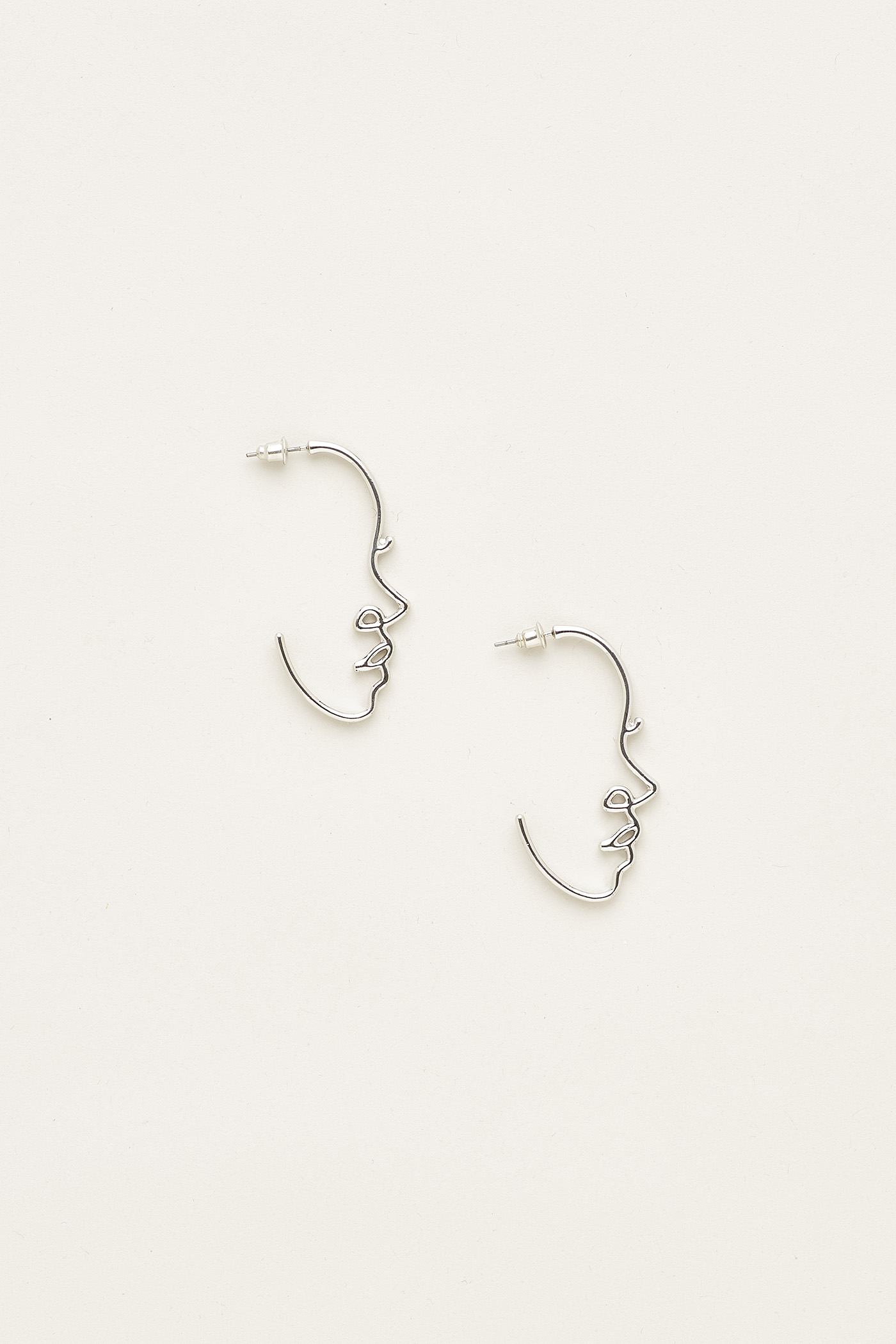 Karoline Face Earrings