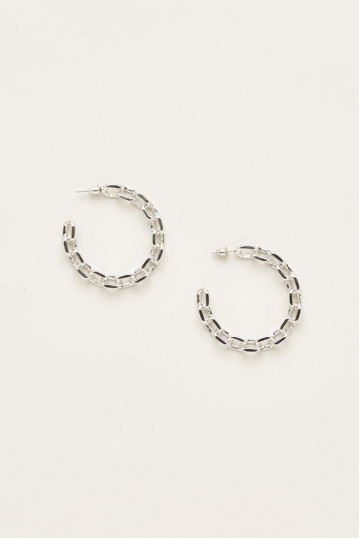Zenda Open Hoop Earrings