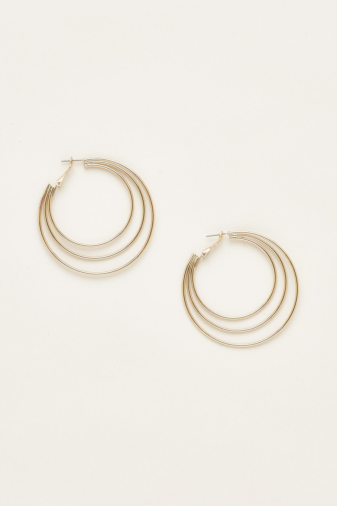 Josalyn Multiple Hoop Earrings
