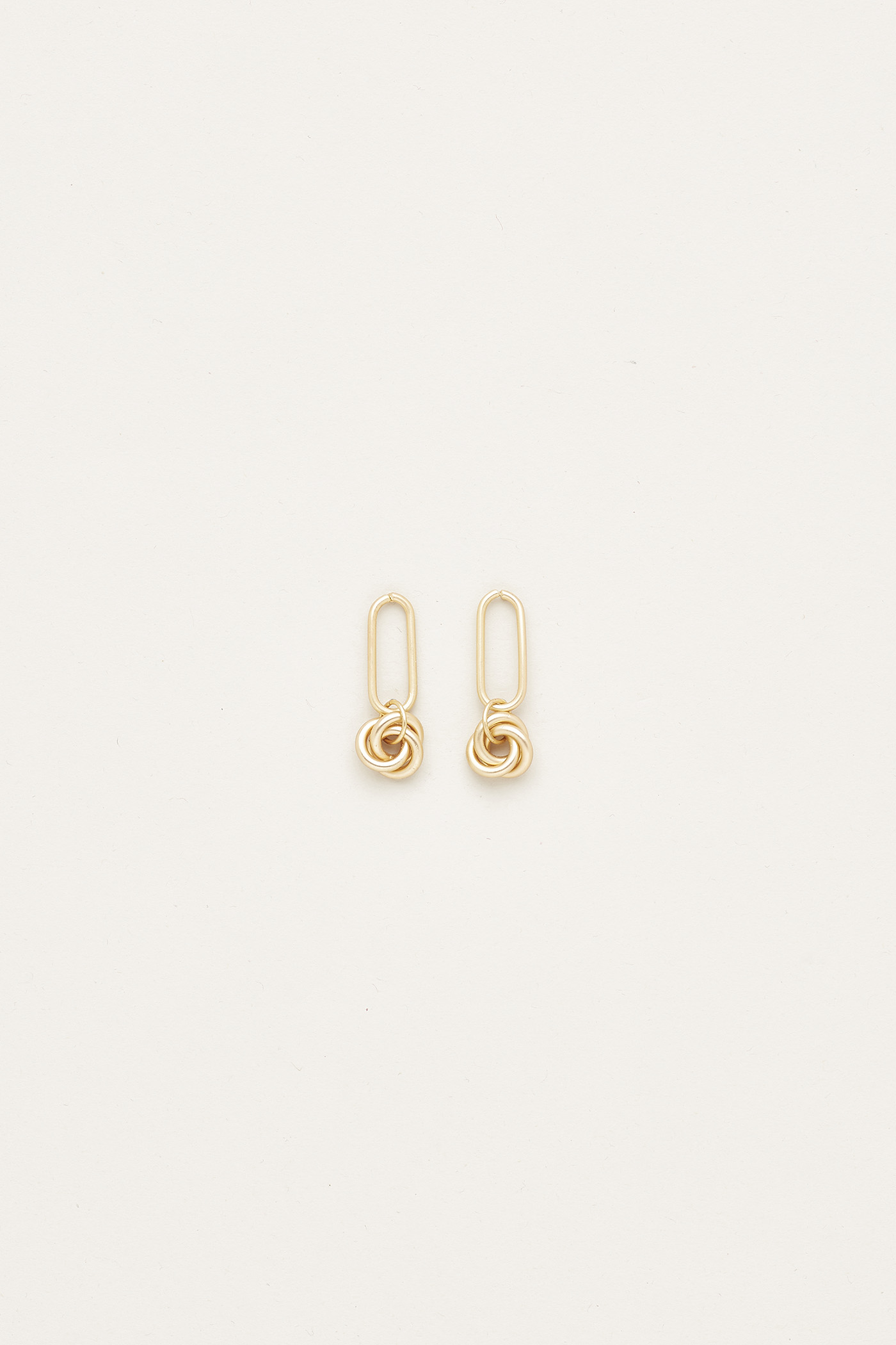 Bliss Twist Drop Earrings
