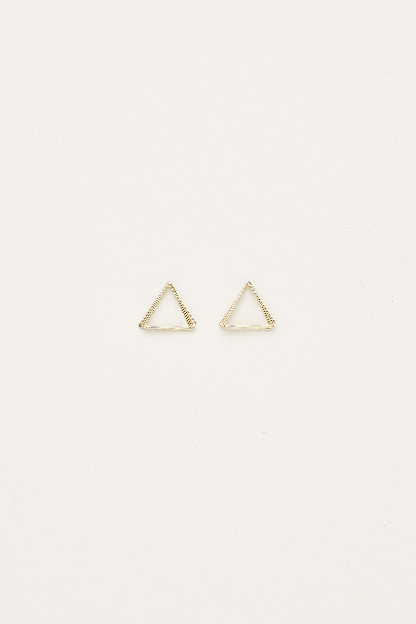 Aimee Triangular Earrings