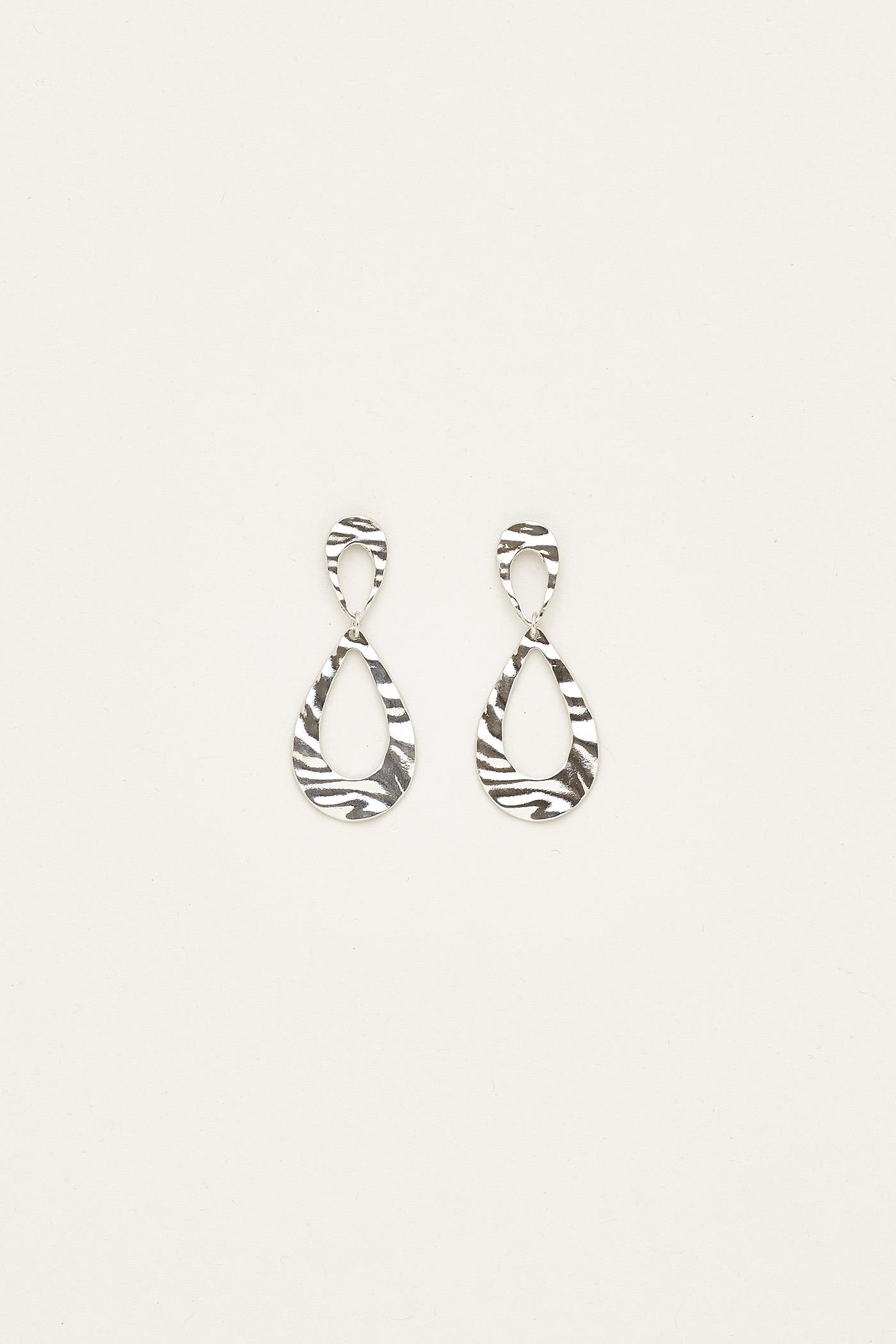Janelle Oval Earrings