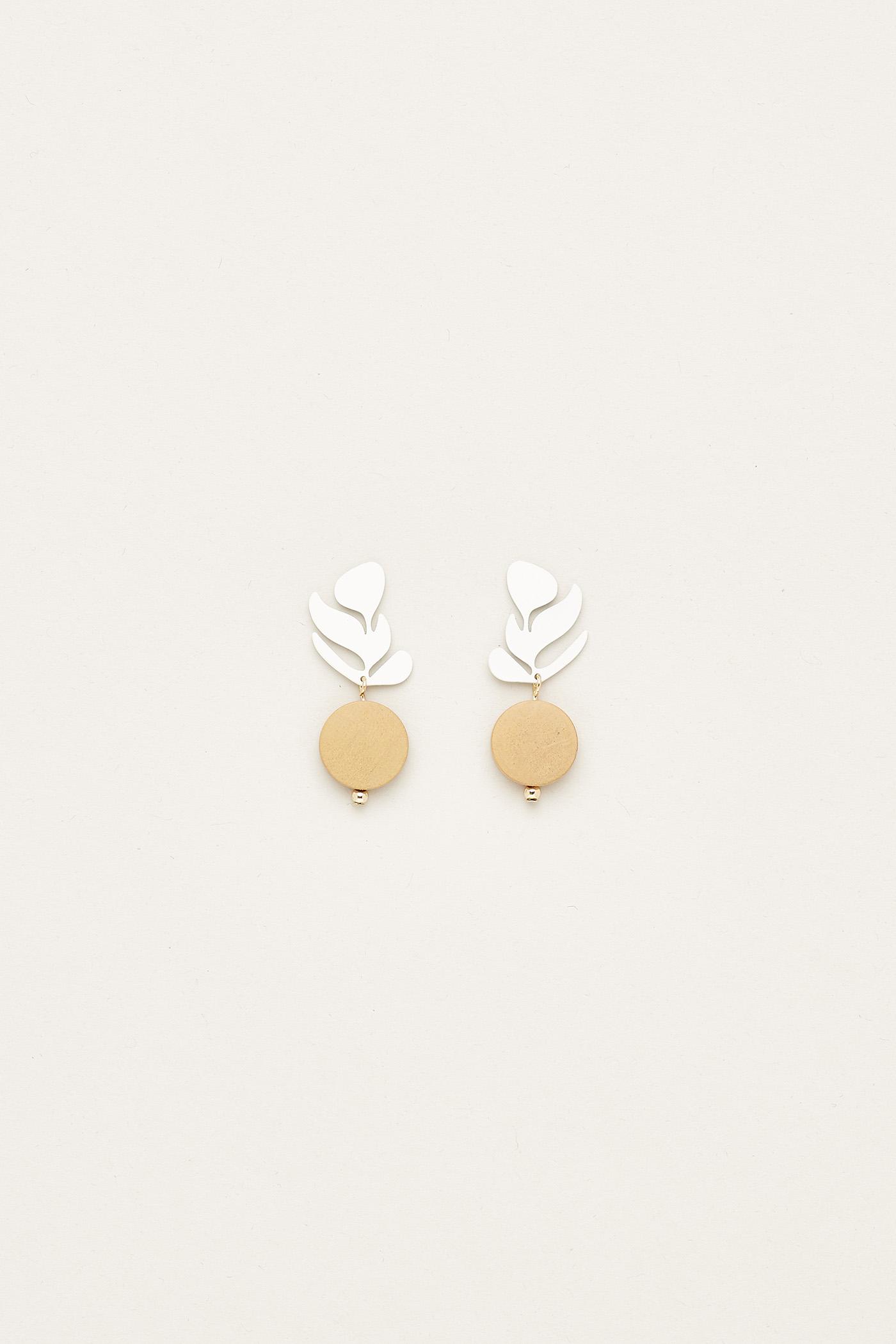 Hermione Wood Earrings