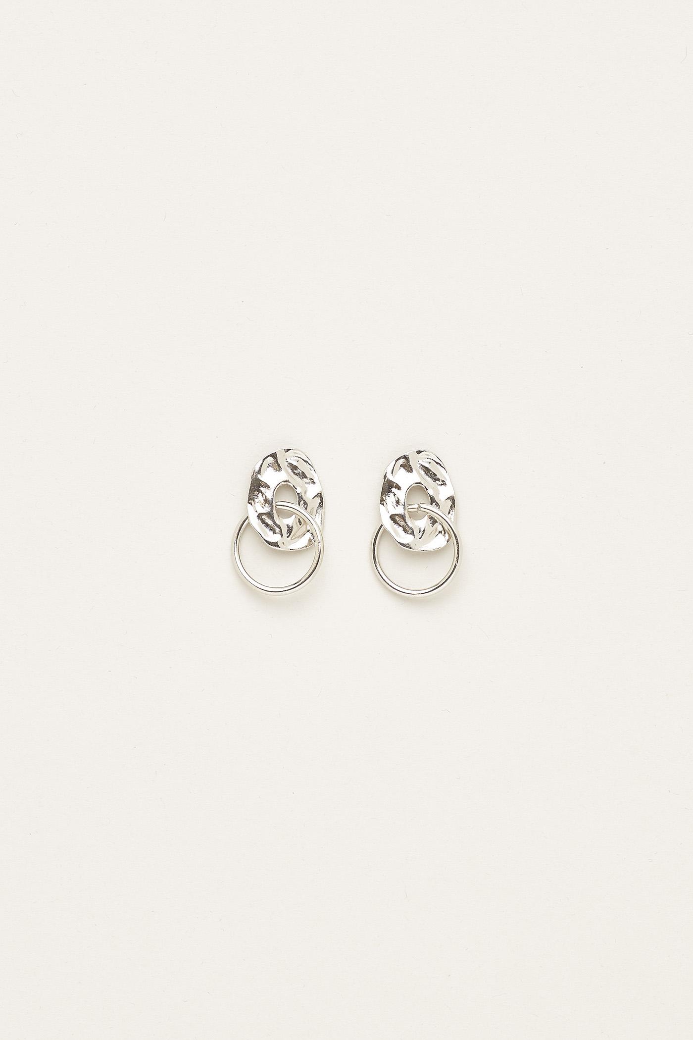Delilah Molten Earrings