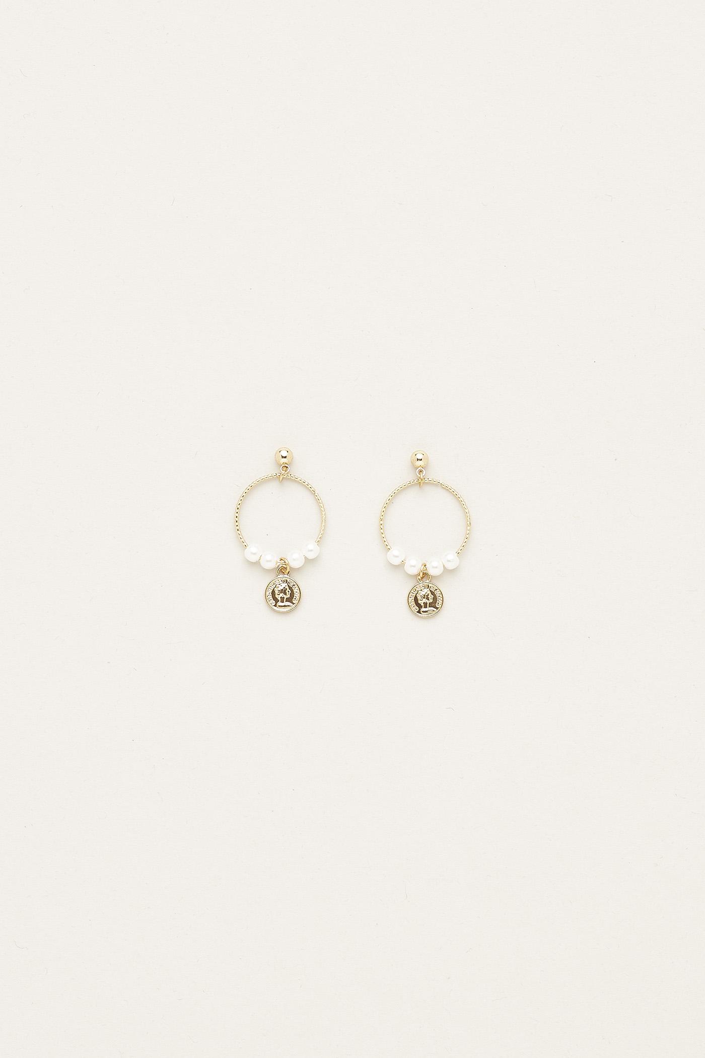 Izabella Pearl Earrings