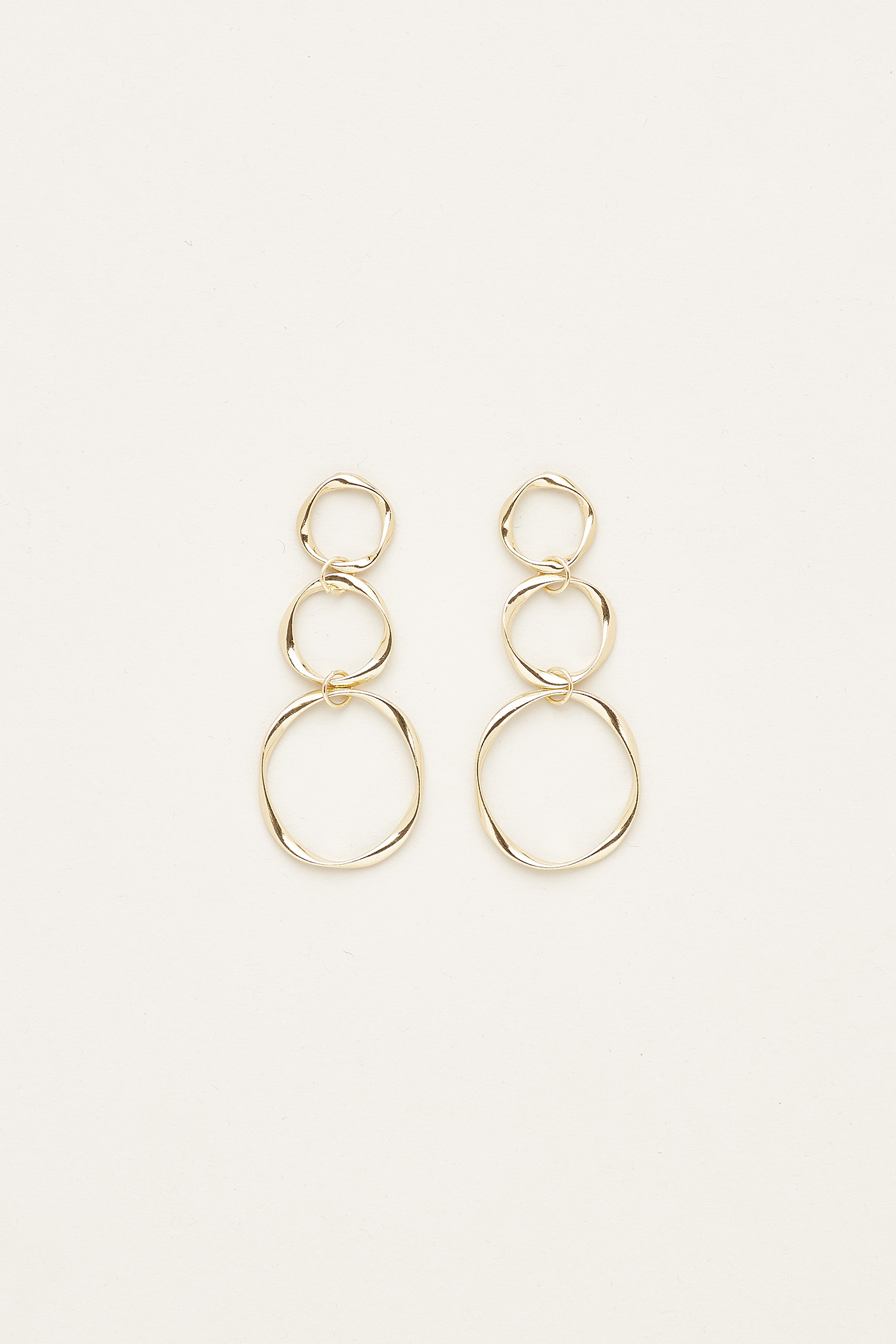 Everdeen Irregular Circle Earrings