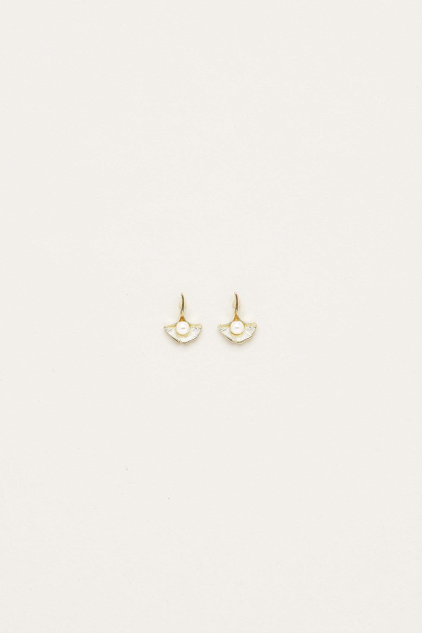 Jaymie Pearl Ear Studs