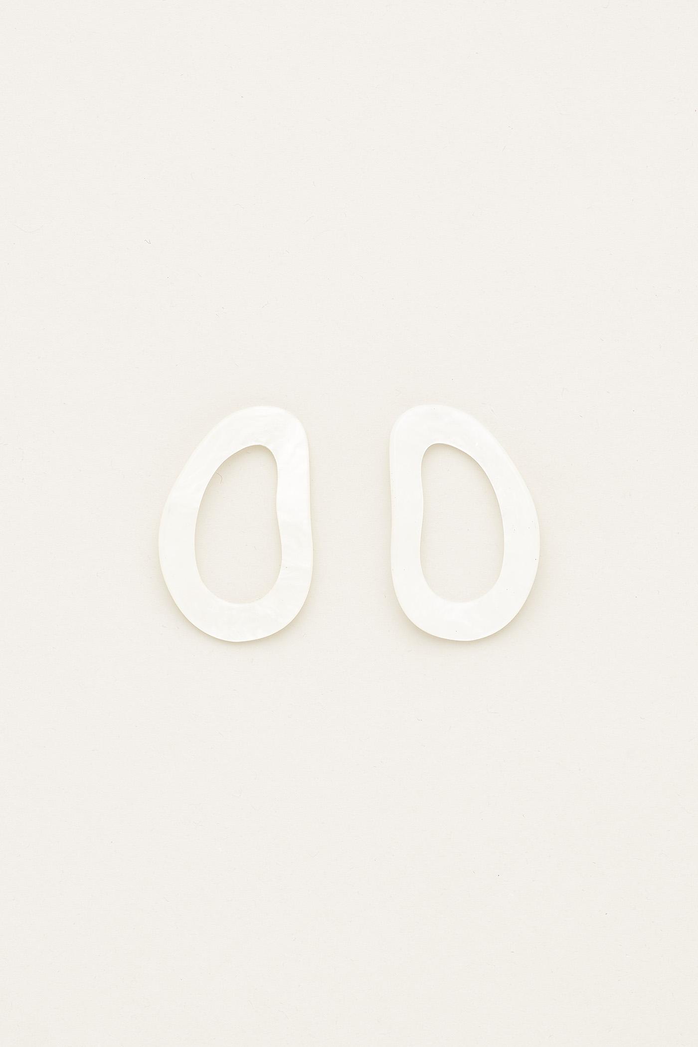 Vonny Molten Resin Earrings