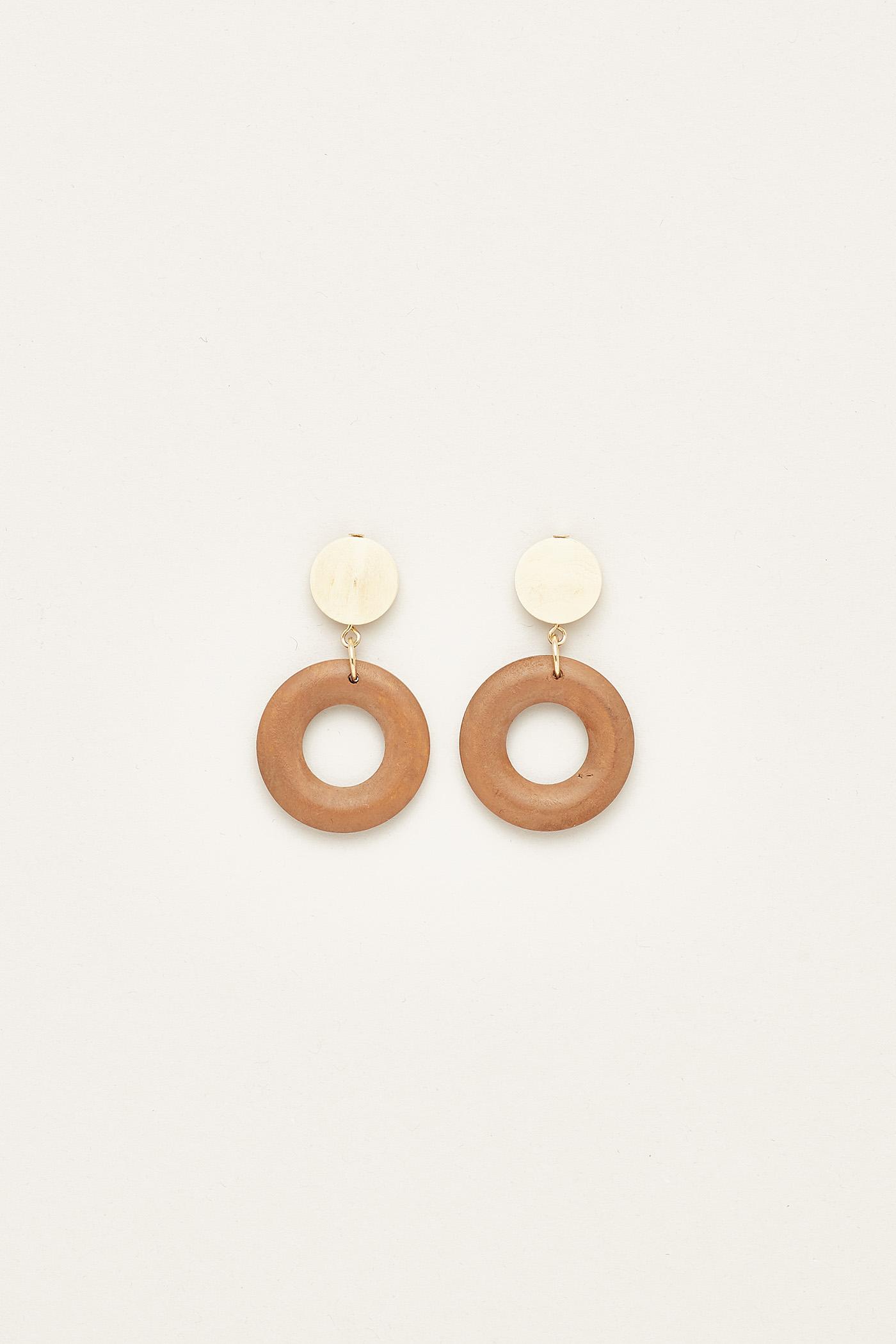 Orina Circle Earrings
