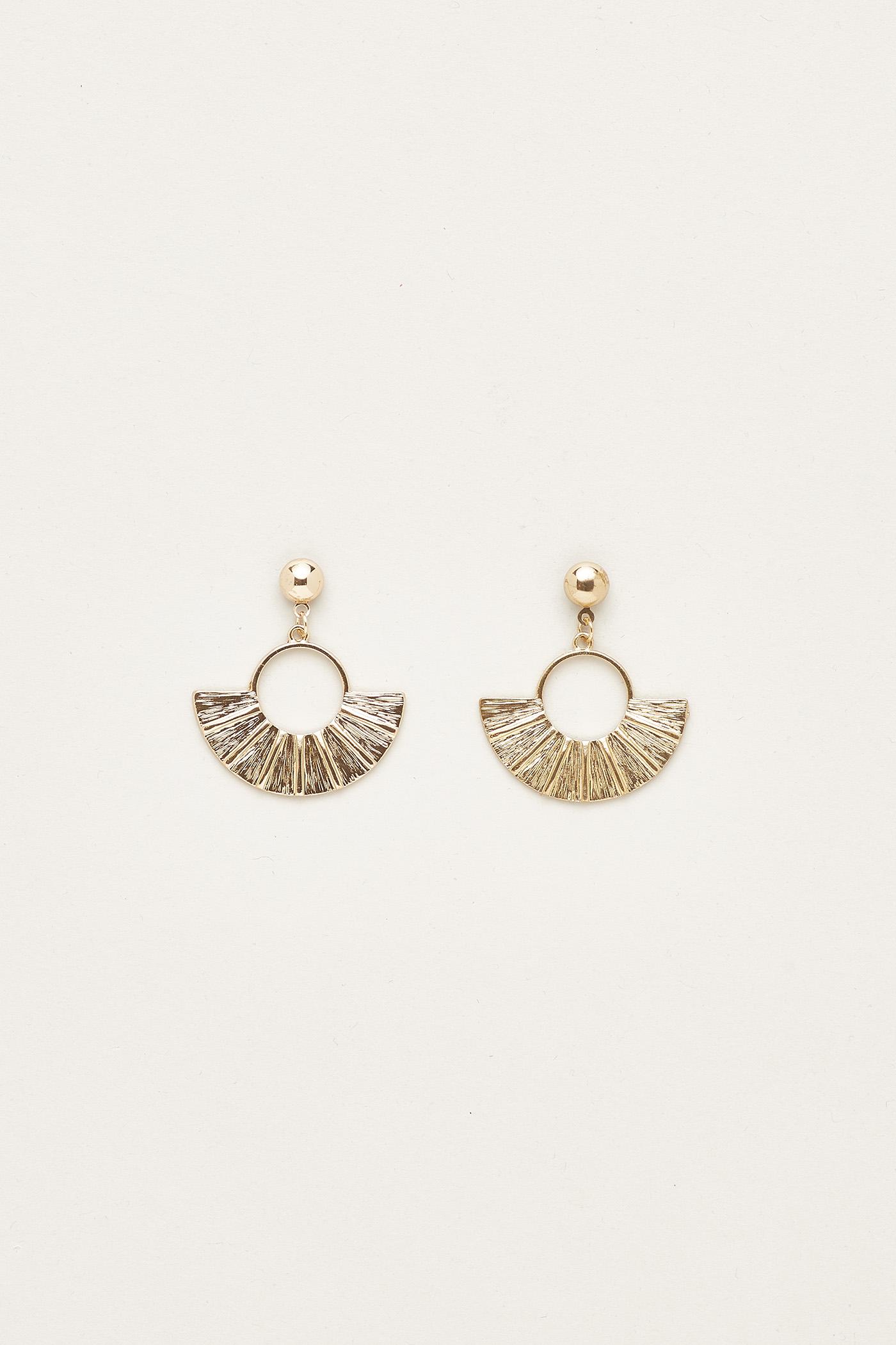Kaitlyn Fanned Earrings