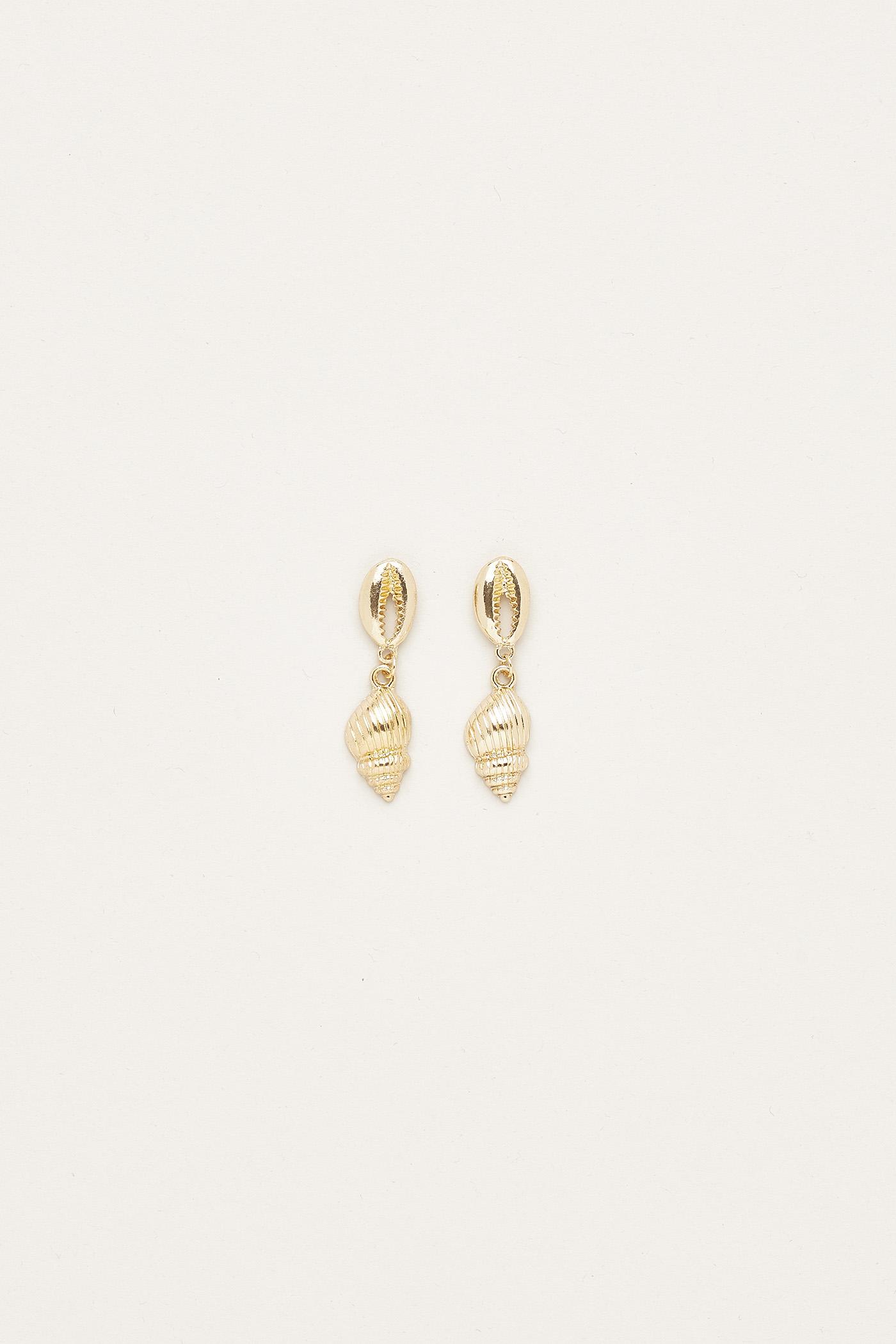 Daysha Shell Drop Earrings