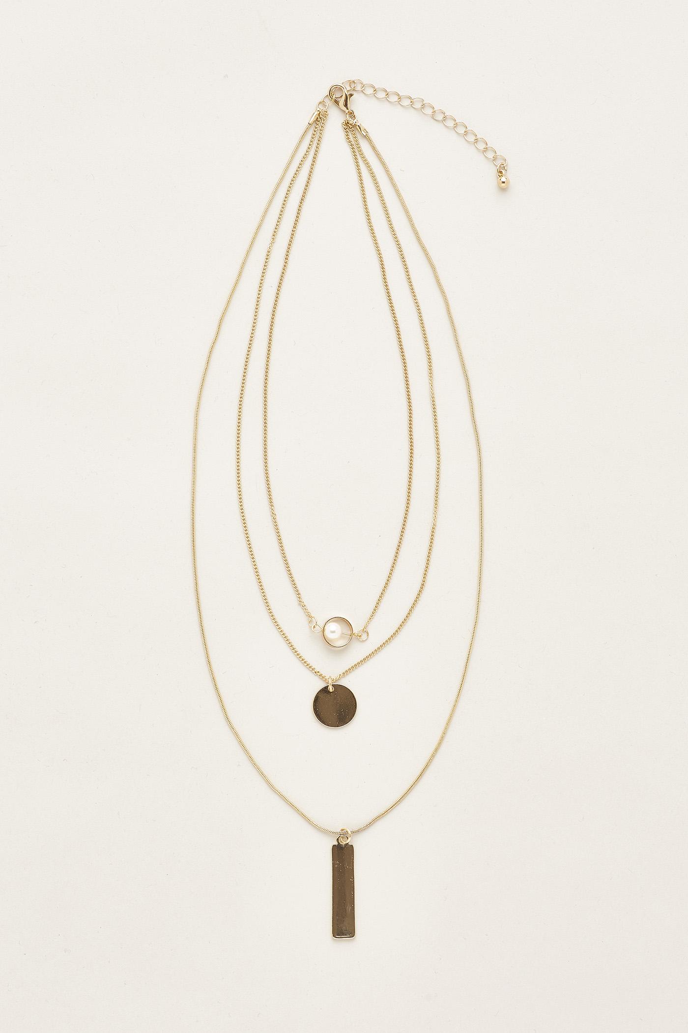 Shaina Pearl Layered Necklace