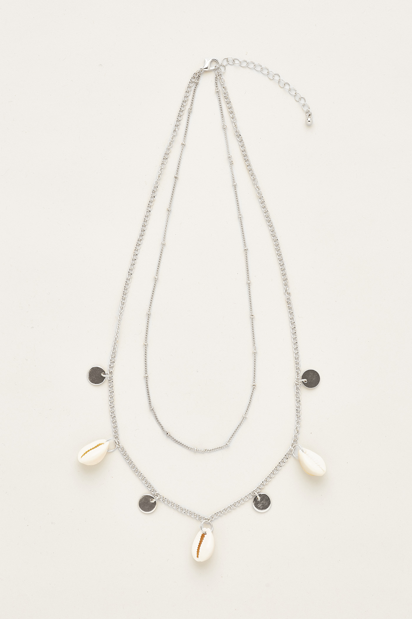 Layla Shell Layered Necklace