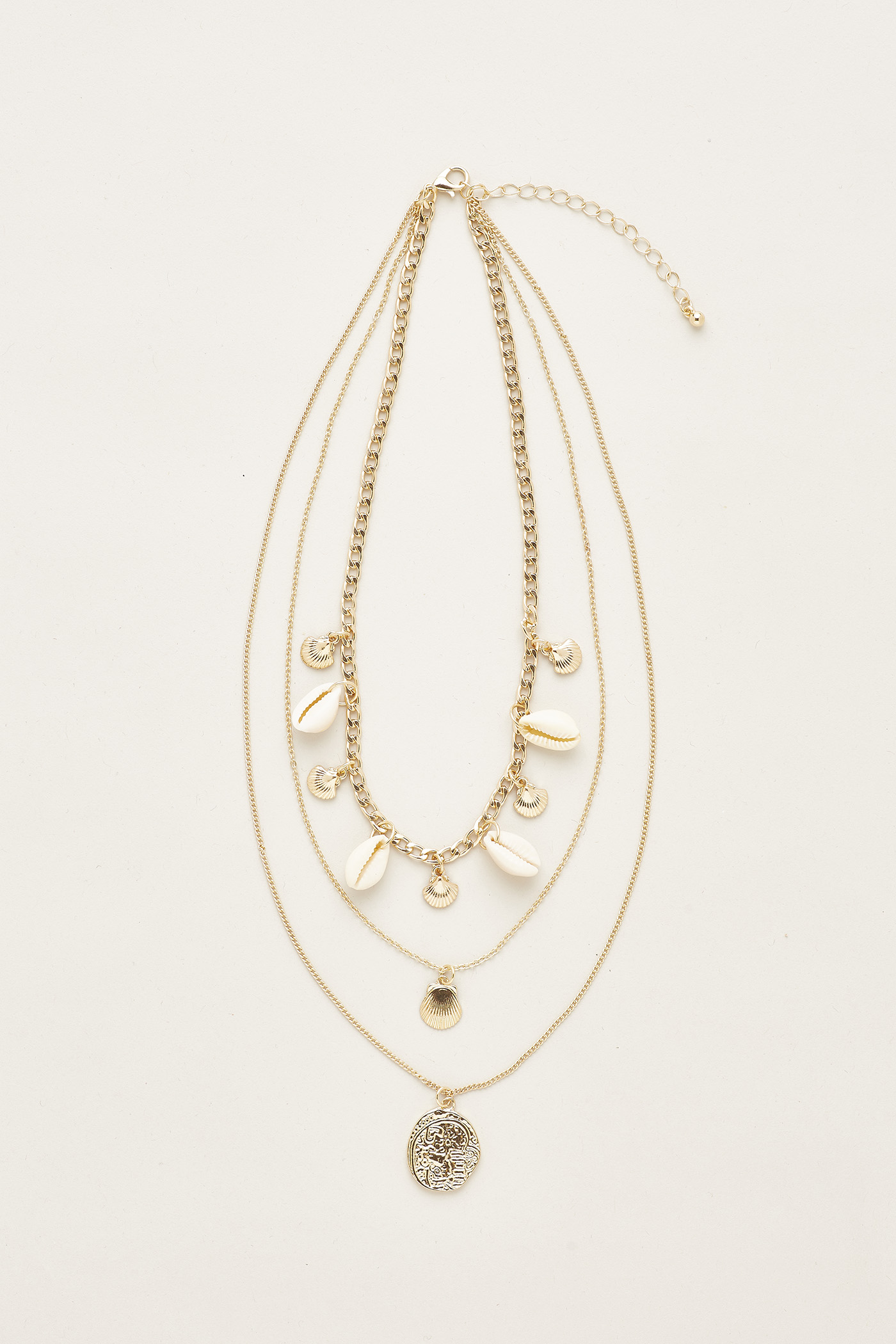 Rylie Shell Layered Necklace