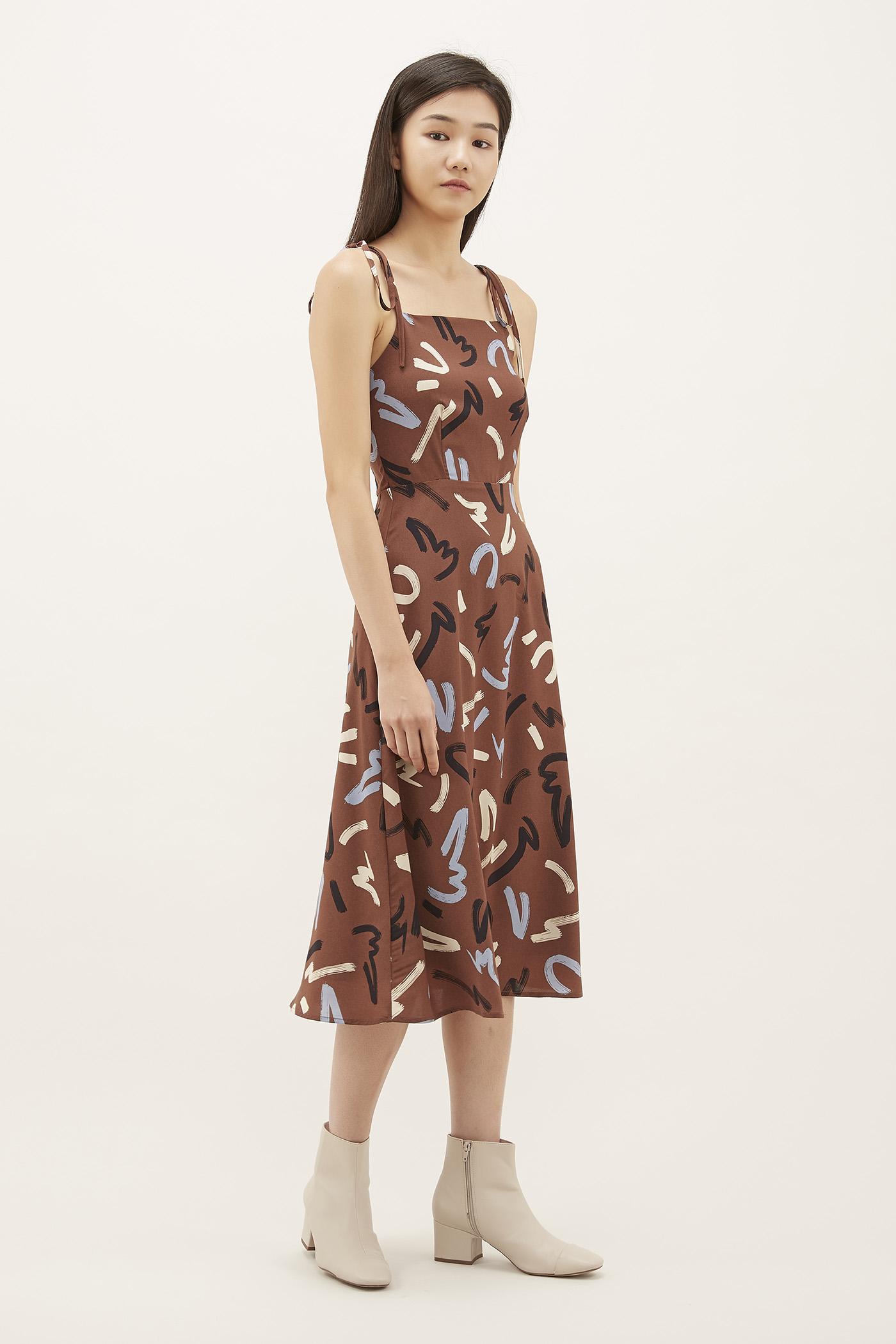 Kowena Strap-tie Dress