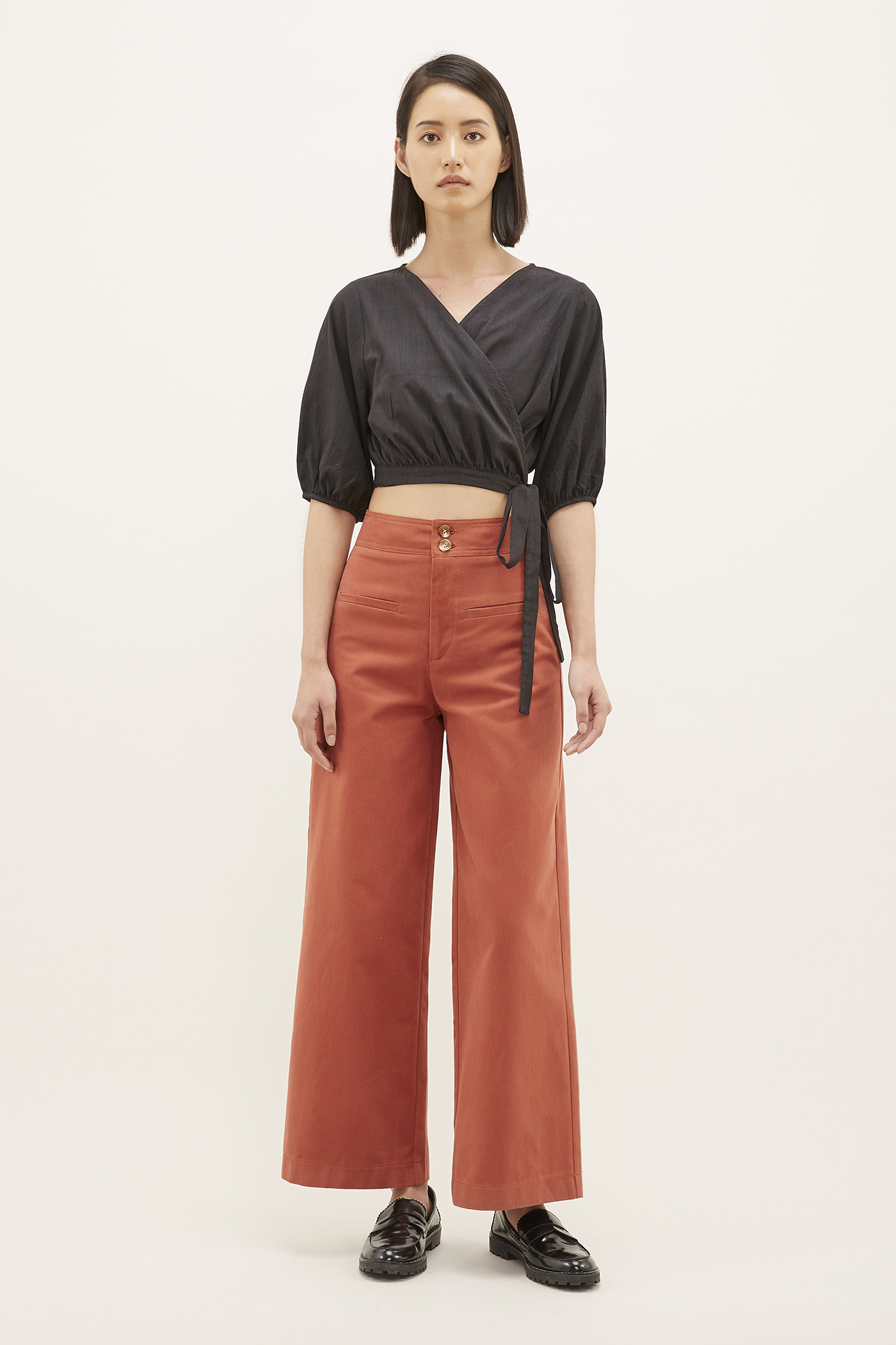 Xami Front Pocket Pants