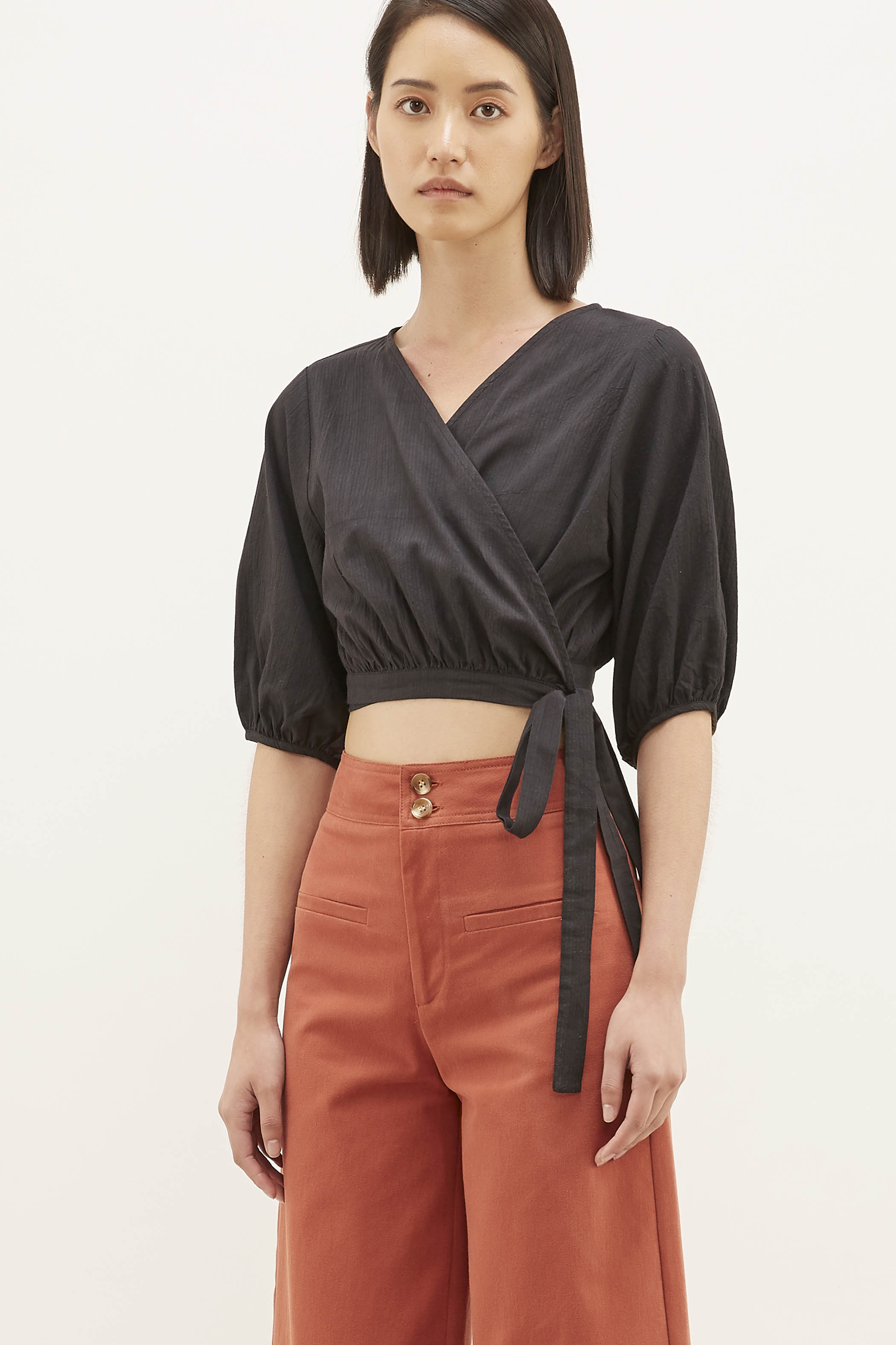 Eyota Wrap Blouse