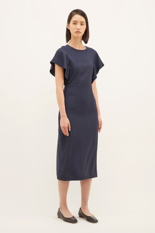 Tyonna Wide-sleeve Dress