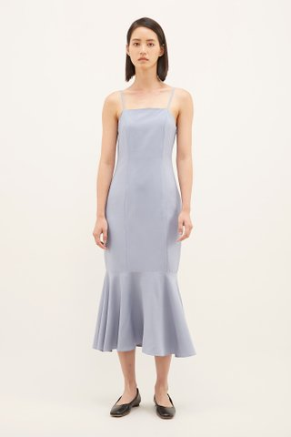 Sharleen Drop-hem Dress