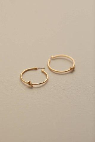 Leila Knot Earrings