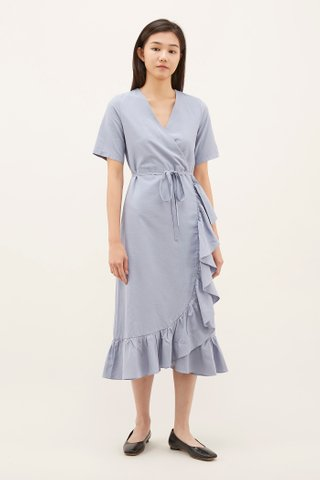 Rebecca Ruffle-trim Dress